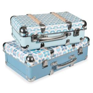2 valises vintage 52,98€
